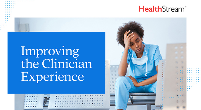 eBook: Improving the Clinician Experience-40149-688x376