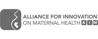 Alliance for Innovation on Maternal Health (AIM)