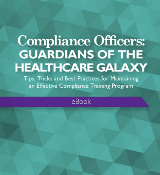 healthcare compliance officer ebook